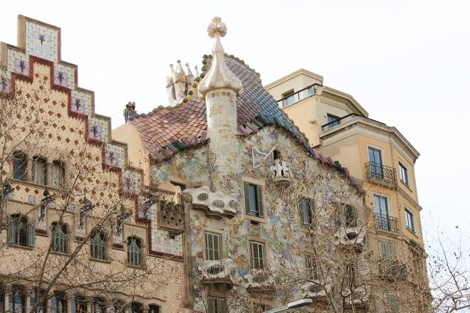 Barcelona Gaudi's Casa Battlo
