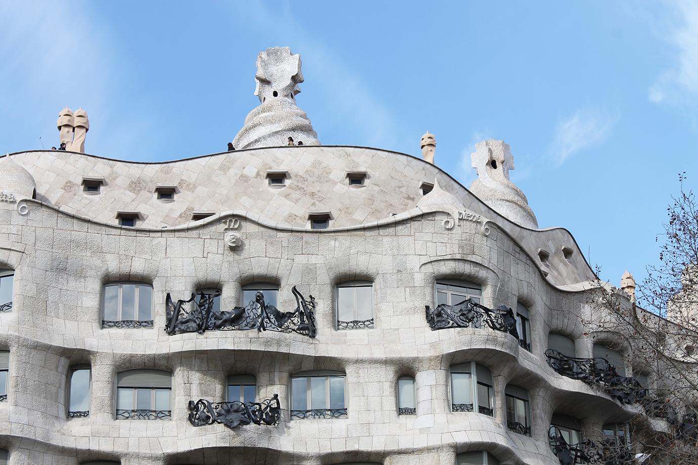 Cake + Whisky   Barcelona Gaudi's Casa Mila