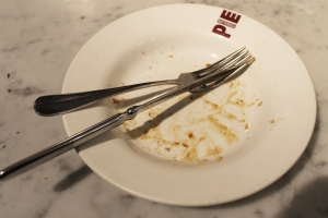 Cake + Whisky | Vegetarian fod at The Gate Islington