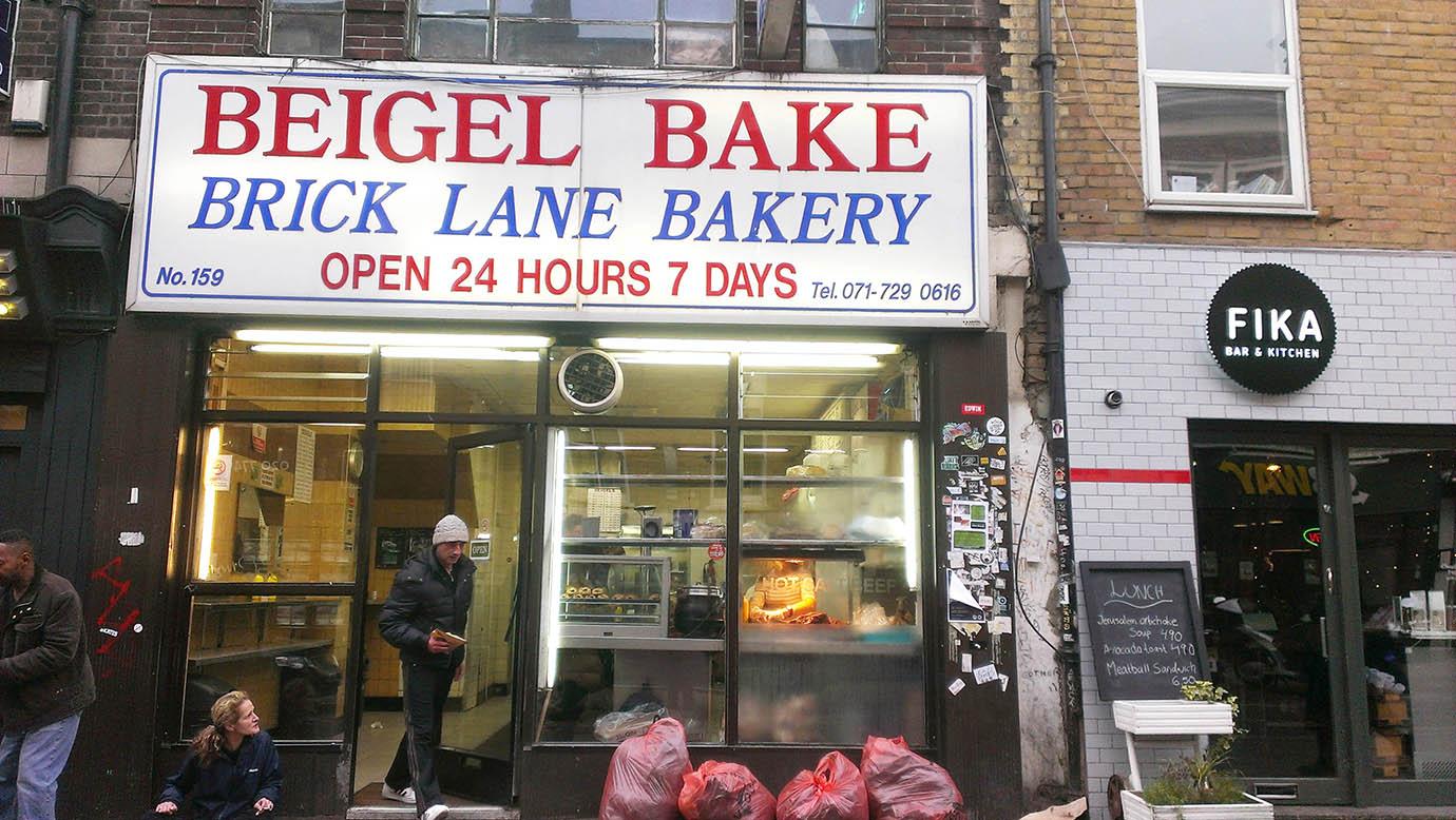 Cake + Whisky   Brick Lane Beigel Bake   London