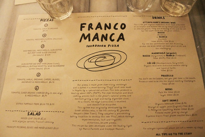 Cake + Whisky | Franco Manca | Pizza | London