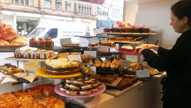 Cake + Whisky | Ottolenghi, Islington, London