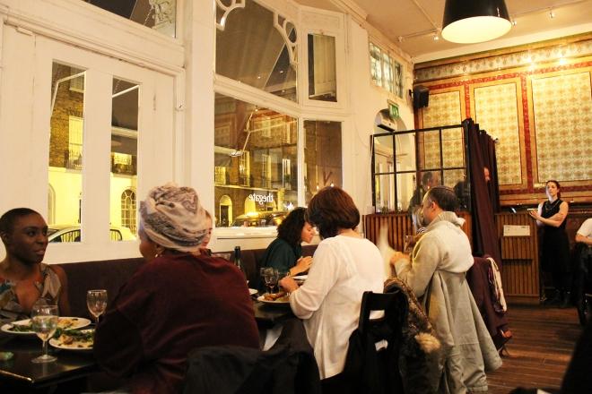 Cake + Whisky | Vegetarian food at The Gate Islington