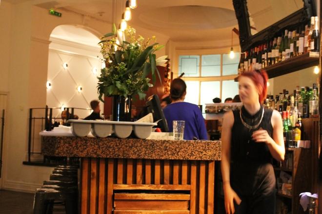 Cake + Whisky   Vegetarian food at The Gate Islington