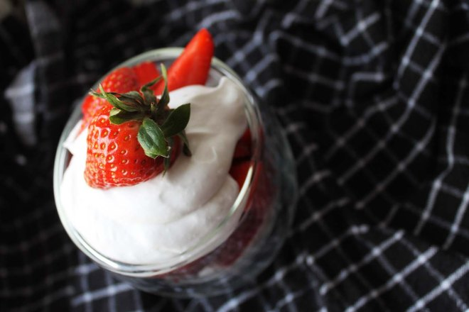 George Day Easy Dessert | Strawberry & Coconut Cream