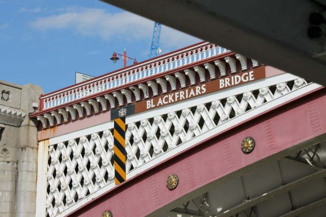 Cake + Whisky | Blackfriars Bridge