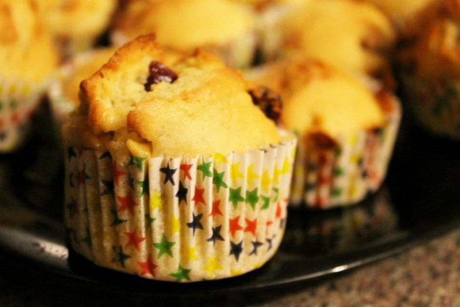 Cake + Whisky | Muffins