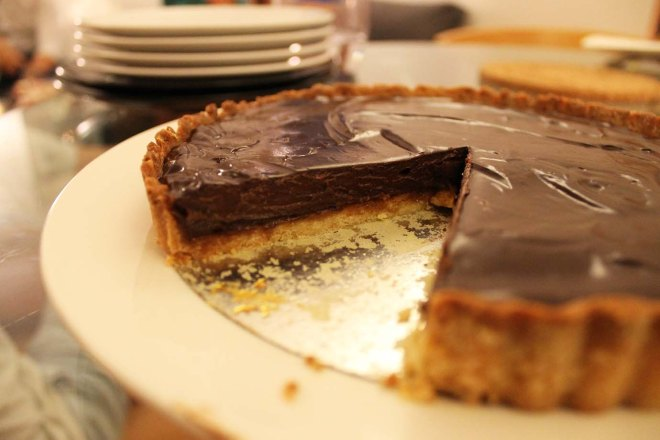 Cake + Whisky | Salted Caramel & Chocolate Tart