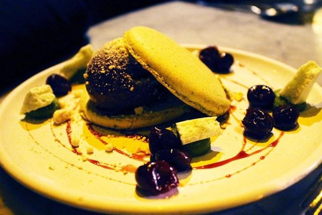Cake + Whisky   Duck & Waffle   London