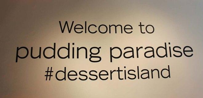Cake + Whisky - Gu #dessertisland pop-up