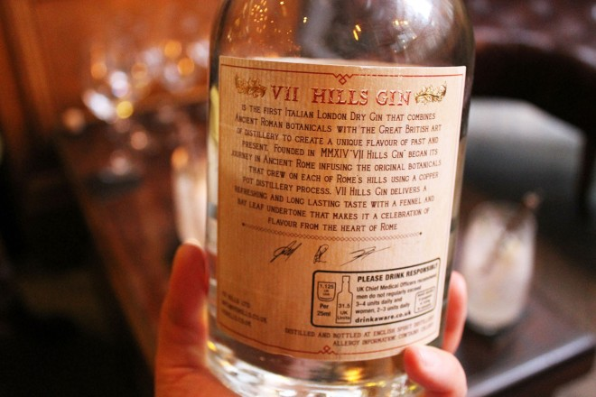 Cake + Whisky | VII Hills Gin tasting at Mr Fogg's London