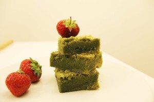 Matcha Blondies Recipe | Cake + Whisky