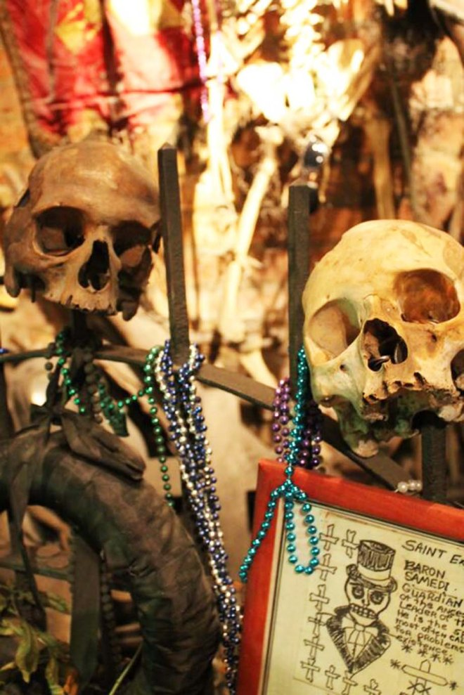 Cake + Whisky | Travel Guide to New Orleans | Voodoo museum