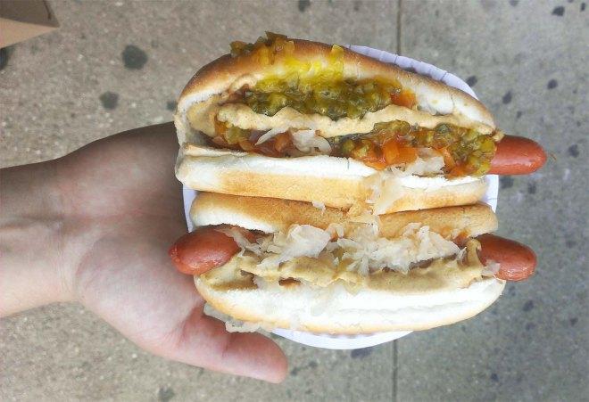 NYC Gray's Papaya's hot dogs | Cake + Whisky