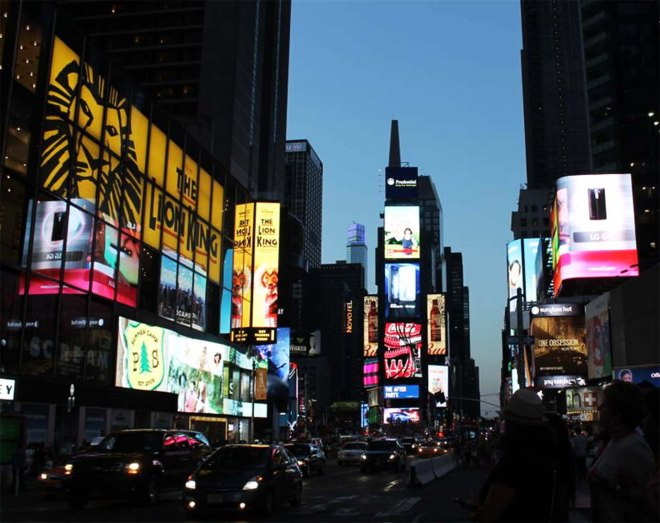 NYC city guide | Times Square | Cake + Whisky