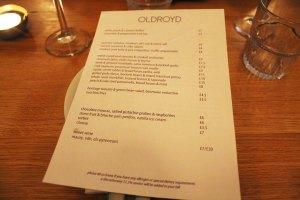 Cake + Whisky | Oldroyd restaurant