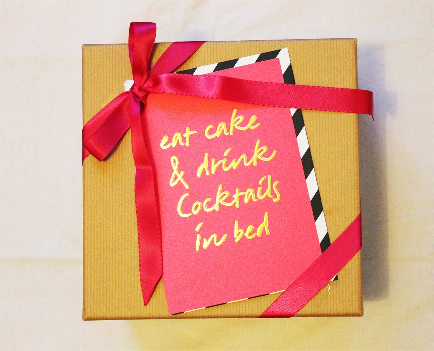 How To Wrap Birthday Presents 3 Easy Diy Ideas Cake And Whisky