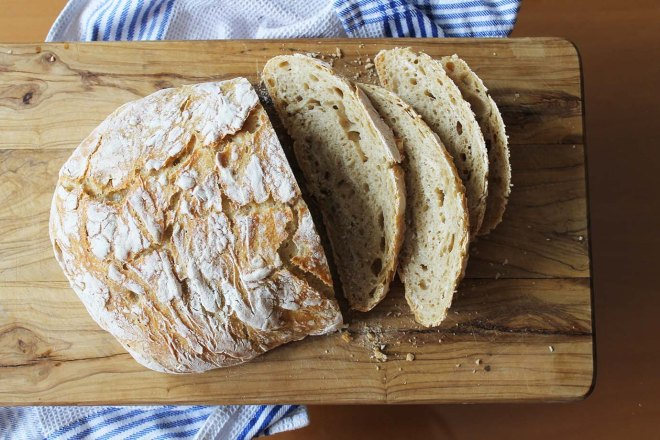No-knead bread recipe | Cake + Whisky