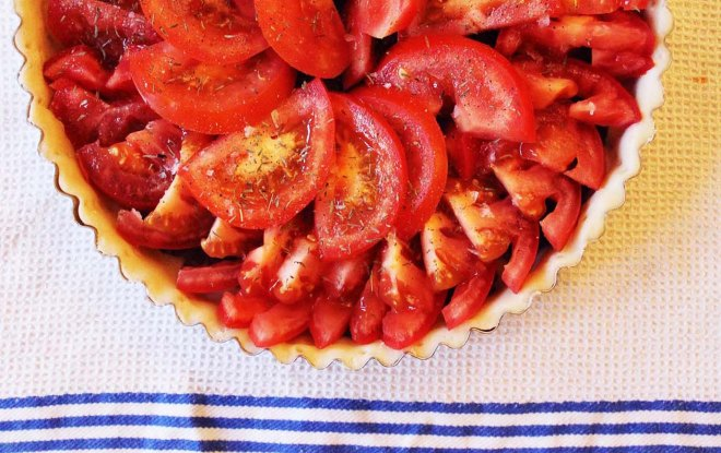 Provencale Tomato and Tapenade Tarte Fine | Cake + Whisky