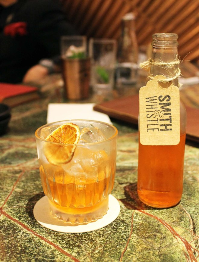 Smith and Whistle bar launch party | Cake + Whisky