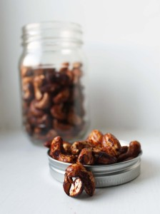 Super easy 2 ingredient Soy-Roasted nuts | Cake + Whisky
