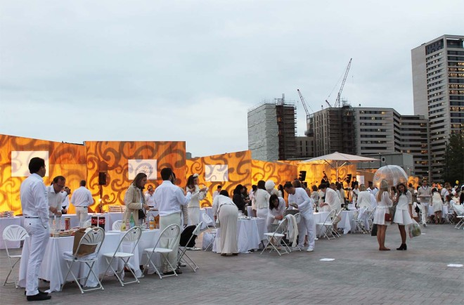 Dîner en Blanc London 2015 | Cake + Whisky