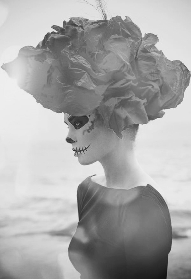 Halloween Inspiration | Dia de Muertos Sugar Skull make up