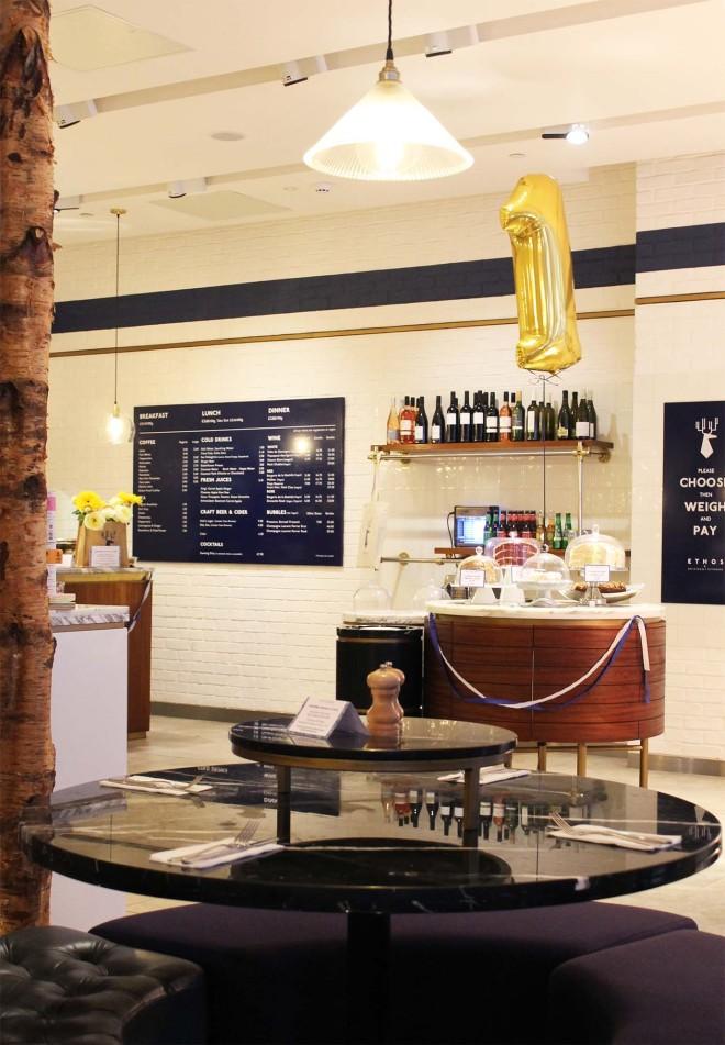 Ethos vegetarian restaurant, London   Cake + Whisky