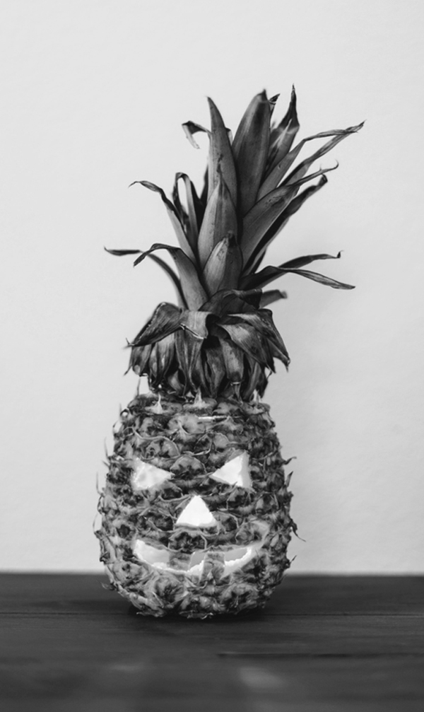Halloween Inspiration | Pineapple Jack O Lantern