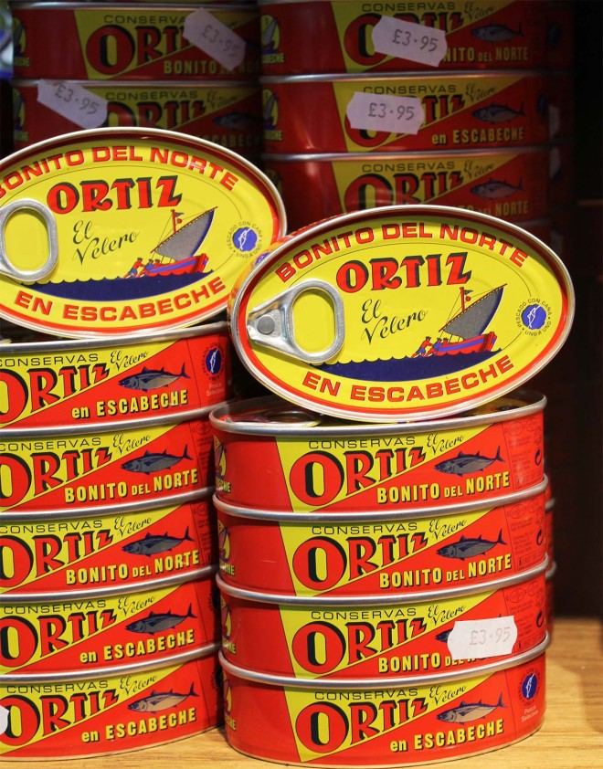 Ortiz tuna cans | Cake + Whisky