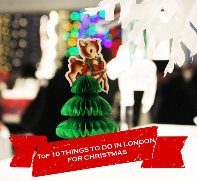Best things to do in London for Christmas | Cake + Whisky