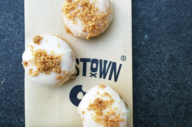 7 mince pies having an identity crisis | Crosstown Mince Pie doughnut
