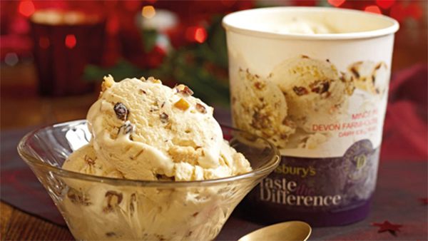7 mince pies having an identity crisis | Sainsbury's Mince Pie Ice Cream