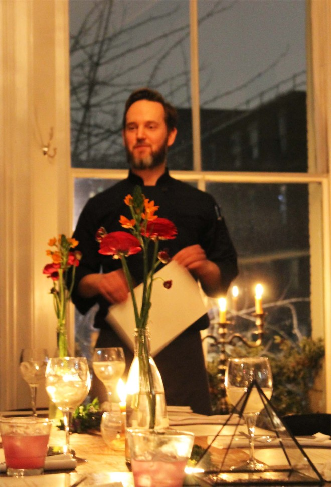 Russell James 'The Raw Chef' pop-up restaurant at Tiny Leaf | Cake + Whisky