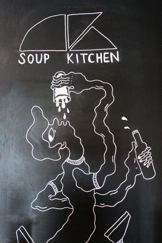 Soup Kitchen, Manchester | Cake + Whisky