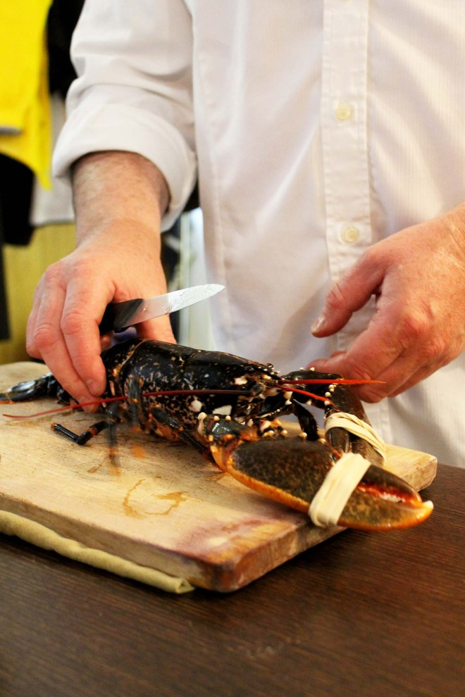 How to cook lobster | Masterclass at L'Ecole du Gout, Saint Malo | Cake + Whisky
