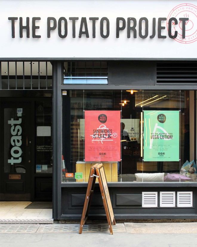 The Potato Project, London | Cake + Whisky