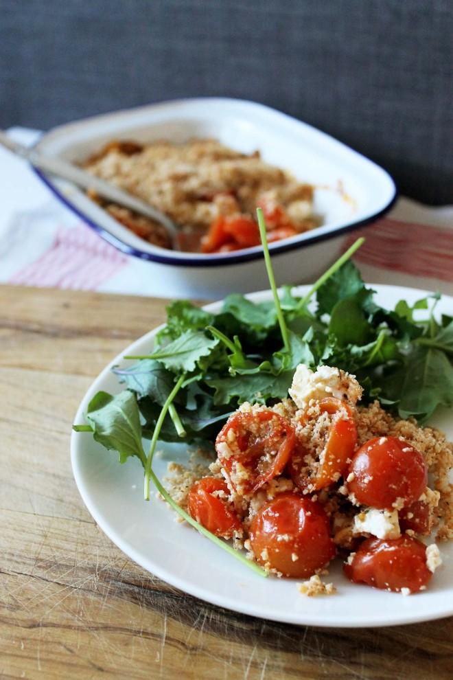 Tomato Feta Crumble 13