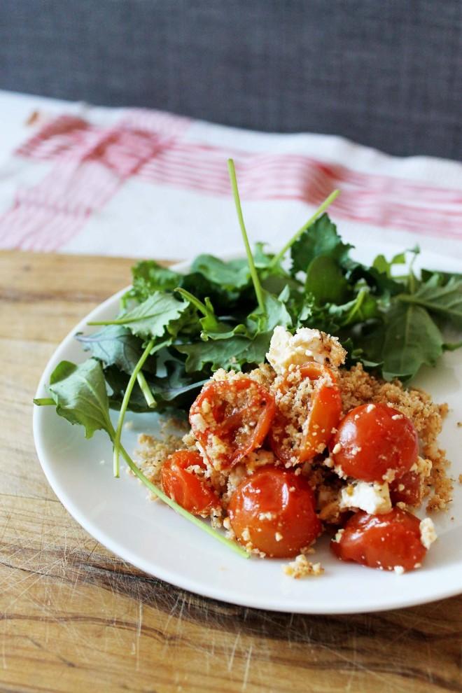 Tomato & Feta Crumble | Cake + Whisky