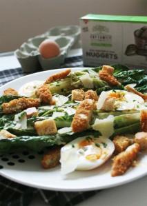 Vegetarian Caesar Salad | Cake + Whisky