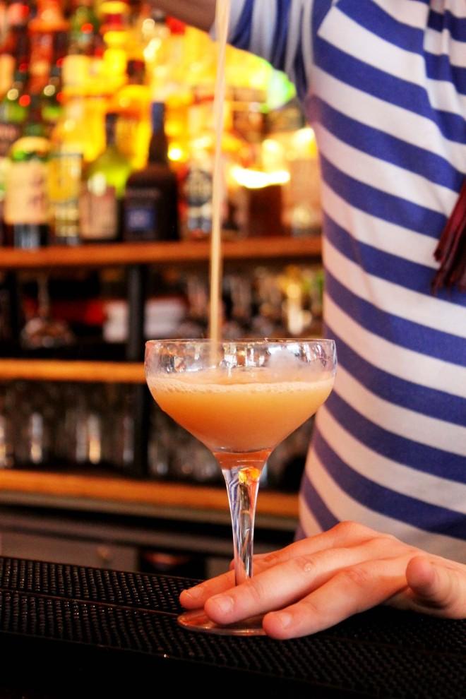 Stripes & Cocktails at Bunga Bunga | Cake + Whisky