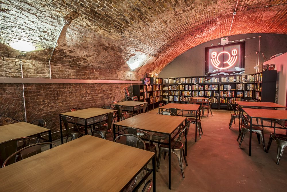 What to do in London when it rains: play board games at Draughts