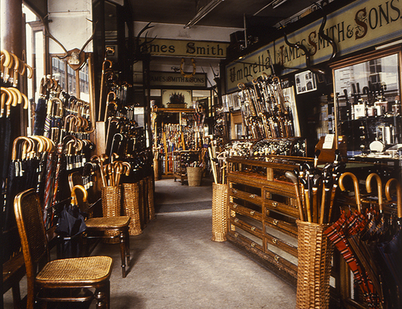 What to do in London when it rains: buy an umbrella at James Smith & Sons