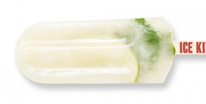 Mojito ice lolly from The Ice Kitchen