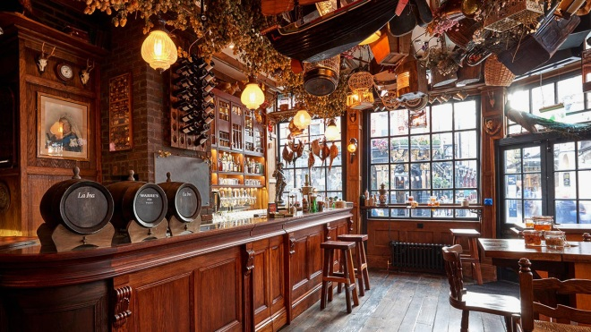 Mr Fogg's Tavern | Best London restaurants for Father's Day