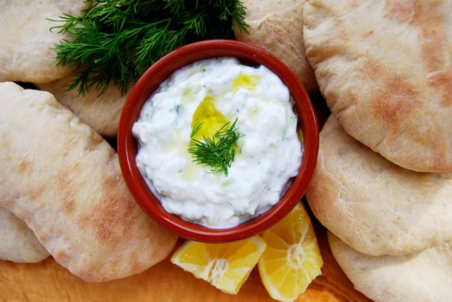 Light tzatziki recipe from Rachel Phipps'