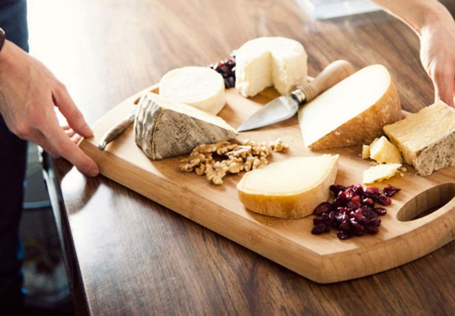A handy guide to the perfect cheese plate from A Cup of Jo