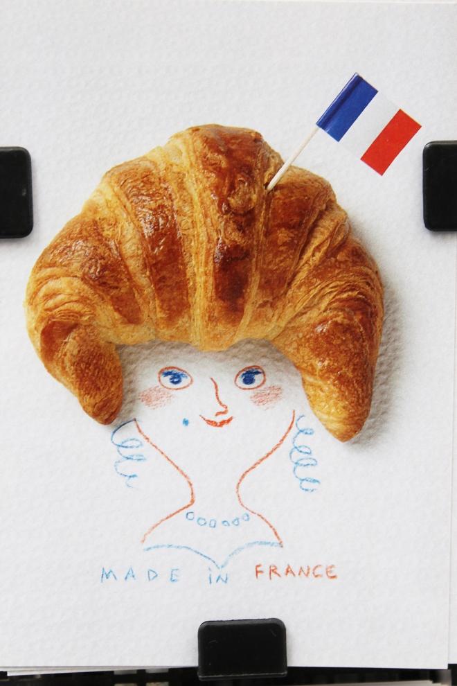 Bleu, Blanc, Rouge in Paris | Cake + Whisky