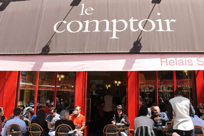 Lunch at Le Comptoir, Paris | Cake + Whisky