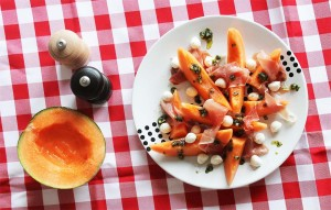 Melon and Prosciutto Salad | Cake + Whisky